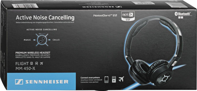 Sennheiser MM 450-X offers advanced Bluetooth connectivity
